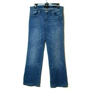 Seven7 light wash flare low rise 70s retro jeans